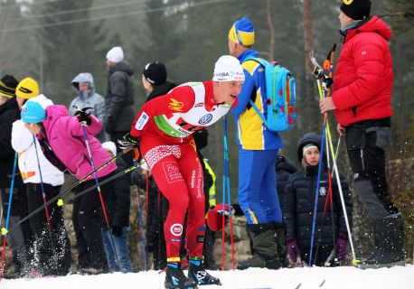 20170204, Swedish Championships CC-skiing men's relay